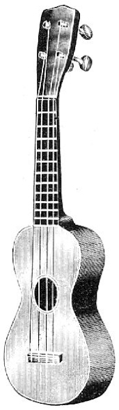 Fritz Strobel Ukulele from 1900's Catalogue