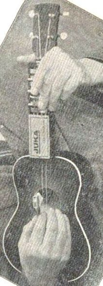 1939 Hess German made Ukulele with Juka Autoplayer