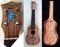 Gregory Yount Honu prototype Ukulele