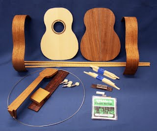 Waldron Ukulele kit